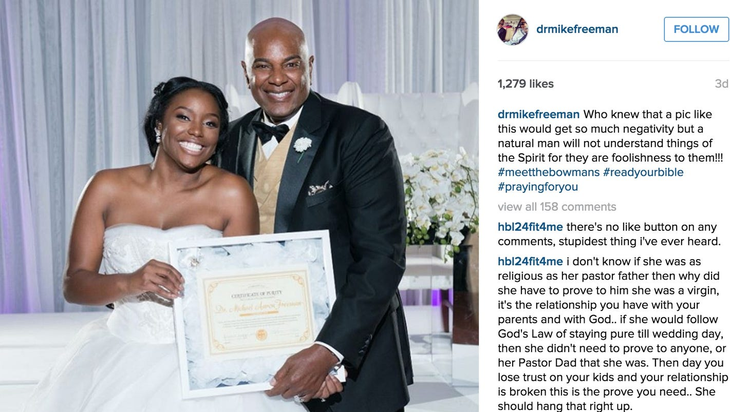 Bride gives dad purity certificate to prove shes a virgin xflitez Choice Image