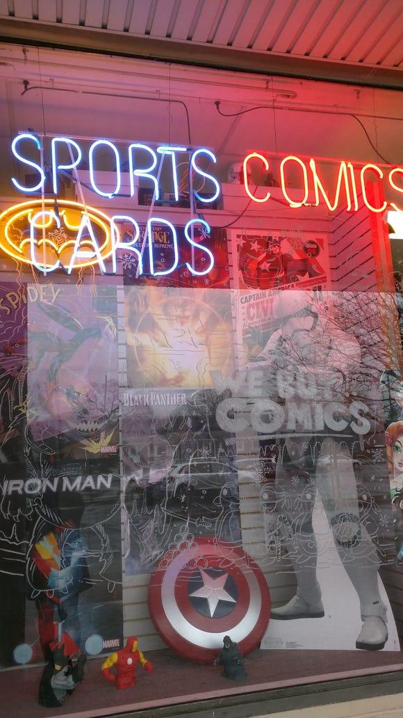 Zapp Comics in Wayne, N.J.