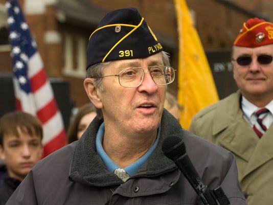 ply veterans day ceremony