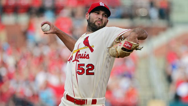 Cardinals starting pitcher Michael Wacha's skills and velocity have declined precipitously from April to May.