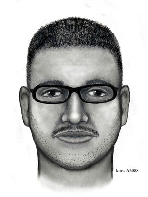 The victim said the man who sexually assaulted her was light-skinned, between 25 and 35 years old, and wore glasses.