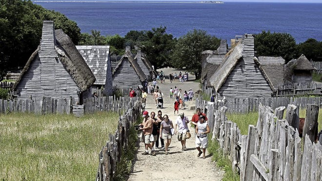"Plimoth Plantation, in a Facebook post this week, unveiled a new logo bearing the word ""Patuxet,"" the Wampanoag name for the area, juxtaposed with ""Plimoth,"" the one later given to it by English colonists."
