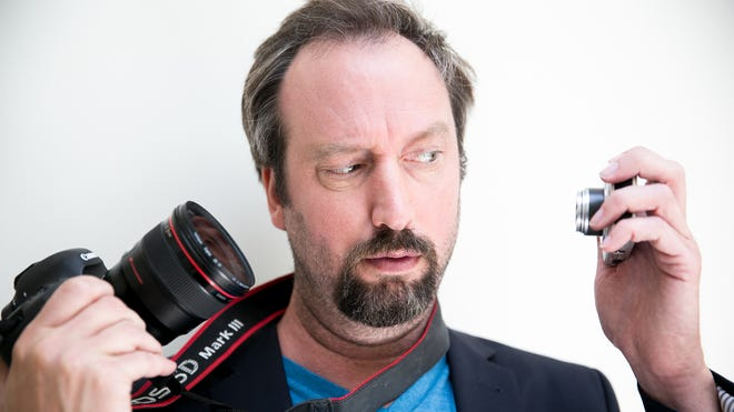 Comedian Tom Green uses the Canon 5D Mark III and a PowerShot point and shoot to make videos for his YouTube channel.