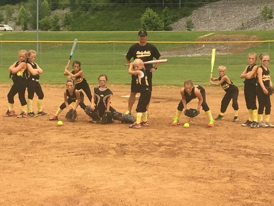 Stewart County softball team.