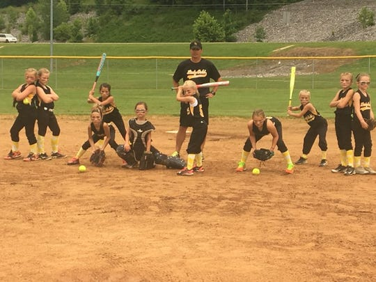 Stewart County softball team.