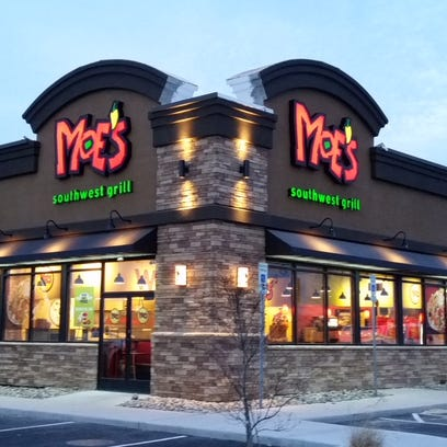 The new Moe's Southwest Grill restaurant in Salisbury.