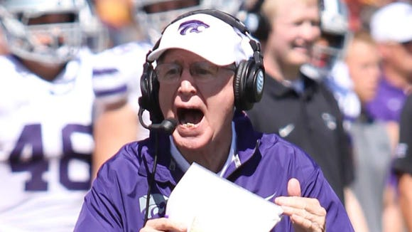 Kansas State coach Bill Snyder and the Wildcats will play host to Auburn on Thursday night.