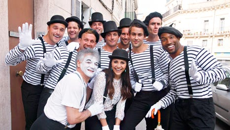 """""""Bachelorette"""" Andi and her mimes"""