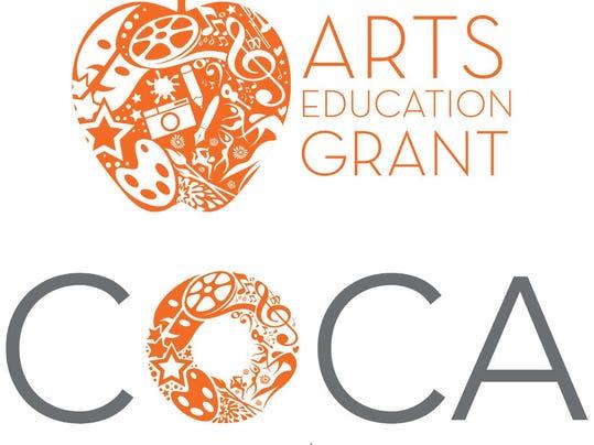 COCA Arts Ed Grant_combo logo vertical