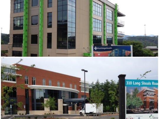 Answer man south asheville s medical building race for Park ridge building department