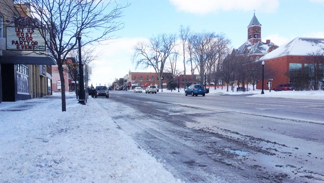 Snow fall and frigid temperatures contributed to icy roads in the Livingston County area Sunday and Monday.