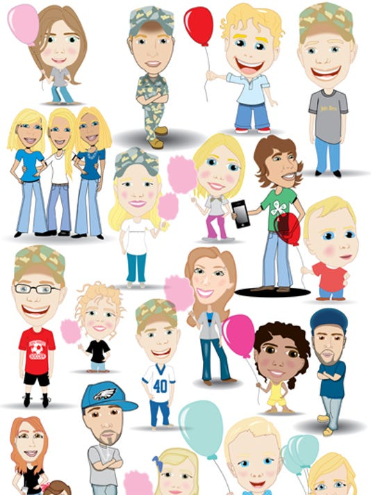 Fair people cartooned400px