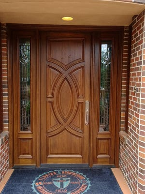 The door to the FAMU President's house.
