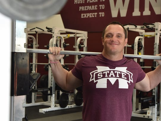 Mississippi State's new baseball coach Andy Cannizarro