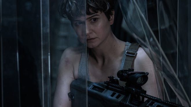 "Katherine Waterston leads a mission to a new planet in ""Alien: Covenant."""