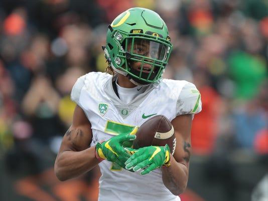NCAA Football: Oregon at Oregon State