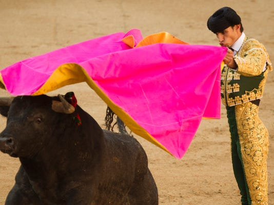 AP SPAIN MATADOR KILLED I FILE ESP
