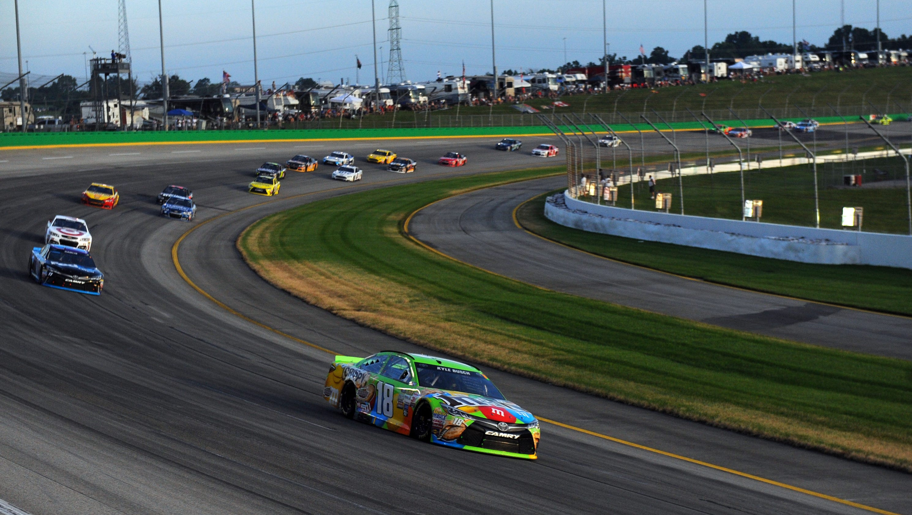 Comprehensive NASCAR news scores standings fantasy games rumors and more