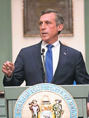 """Gov. John Carney's income tax plan asks for """"shared sacrifice"""" from virtually all Delaware taxpayers."""