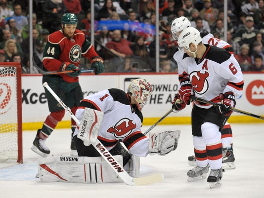 NHL: New Jersey Devils at Minnesota Wild