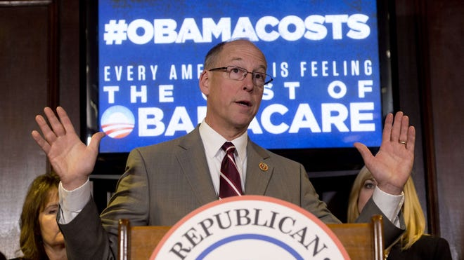 Rep. Greg Walden, R-Ore., chairs the House GOP's 2014 campaign operation. He wants to win 11 seats.
