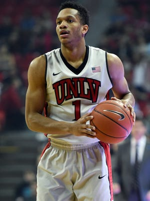 The Milwaukee Bucks selected UNLV guard Rashad Vaughn in the first round of the NBA draft on Thursday night.