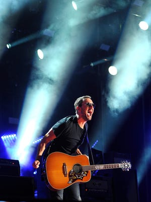 Eric Church performs at the CMA Music Festival on June 14, 2015.