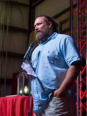 Pensacola resident and Miami Dolphins offensive guard Josh Sitton hosts the second annual Light Up Learning event at  Thursday night at De Luna Winery in Pensacola on Thursday, June 21, 2018.