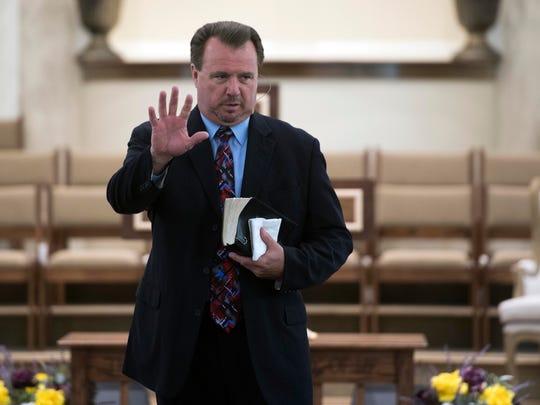 The Rev. Kim McCroskey of Roaring Fork Baptist Church
