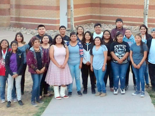 senior scholarship recipients mescalero