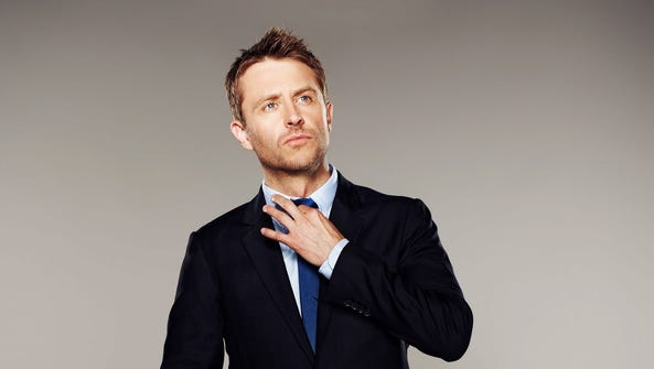 Chris Hardwick may not fit your stereotype of a nerd,