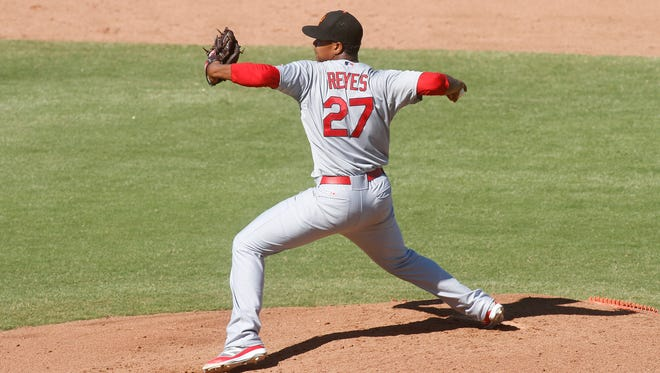 Cardinals prospect Alex Reyes has pitched well at Class AAA since returning from a suspension.