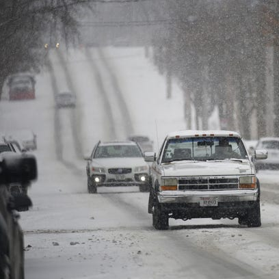 Difficult driving conditions are expected across the