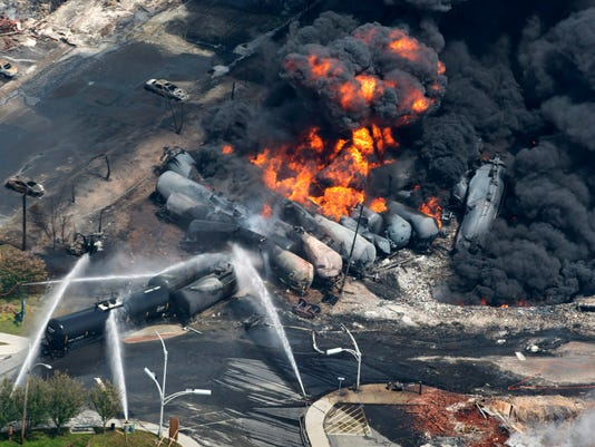 Oil Trains High Stakes