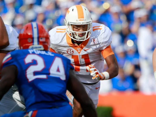 NCAA Football: Tennessee at Florida