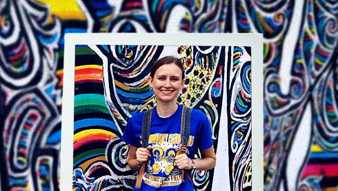 ASU Honor's student Jessica Tharp participated in the first-ever Summer Institute on Holocaust Remembrance at Hanze University of Applied Sciences over the summer in the Netherlands.