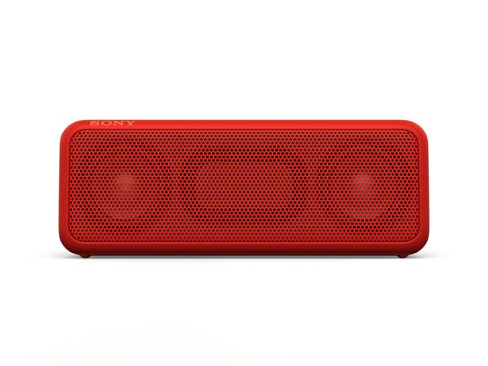The Sony SRS Bluetooth speaker.
