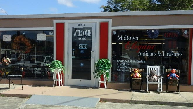 Midtown Elegant Antiques and Treasures is now open at 4406 N. Palafox St.
