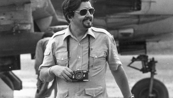 Richard Pyle, an Associated Press reporter who died Thursday, Sept. 28, 2017, in 1970.