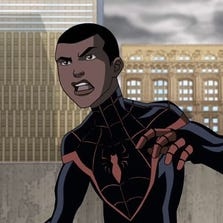 Donald Glover voices Miles Morales in an episode of 'Ultimate Spider-Man: Web Warriors.'