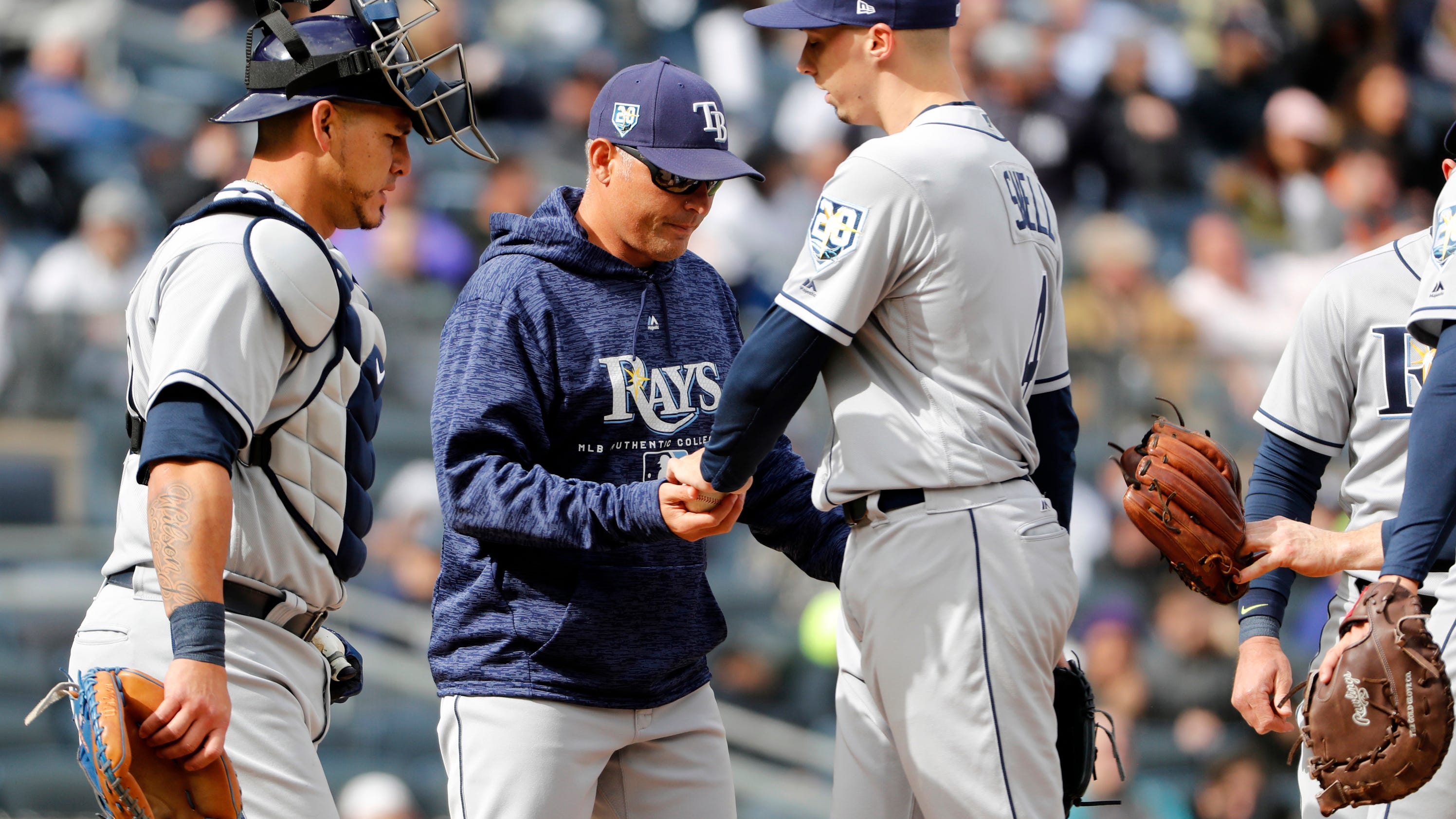Steady relief Rays use bullpen in place of No 4 starter