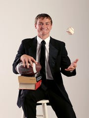 Isaac Harker was IndyStar Sportsman of the Year his senior year at Lebanon.