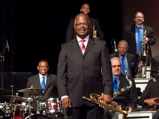 Scotty Barnhart brought along the County Basie Orchestra for the inaugural Florida Jazz and Blues Festival in Cascades Park.