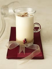 The Almondy Eggnog is a nutty twist on a classic holiday beverage.