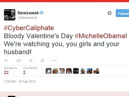 Newsweek's Twitter account appears to be hacked Tuesday