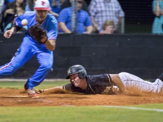 Pine Forest vs Milton baseball