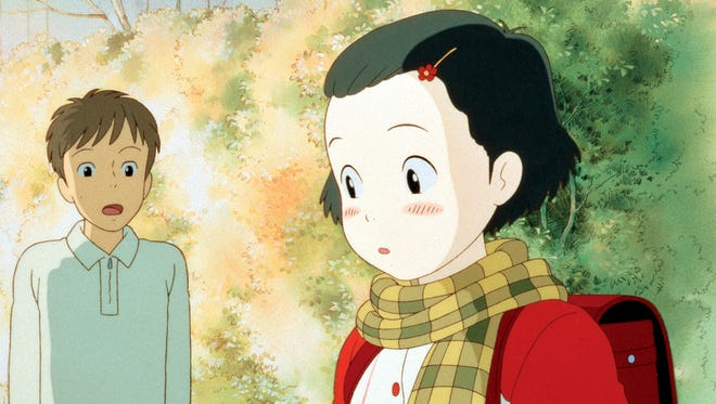 """A scene from """"Only Yesterday,"""" a 1991 Japanese release also known as """"Omohide poro poro"""" (Memories of Teardrops or Memories of Yesterday), written and directed by Isao Takahata. Shown from left: Hirota (Japanese voice: Yuuki Masuda) and 10-year-old Taeko (Japanese voice: Youko Honna)."""