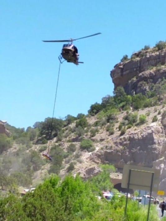 U.S. Border Patrol helicopter