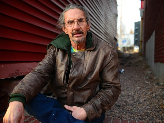 Winooski resident Dale Laclair was displaced from his