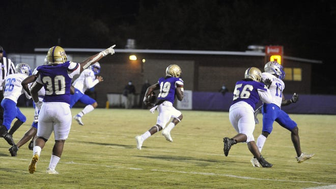 Photos from Richmond Academy's game against Burke County on Friday, Nov. 20, 2020.